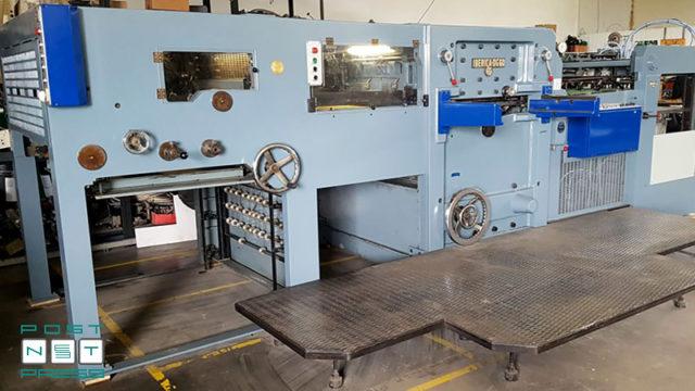 высекательный автомат Iberica DG 60 после капремонта