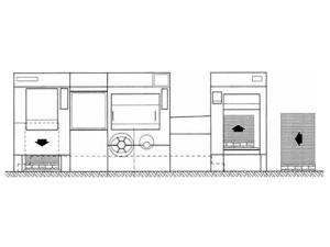 высекальный автомат Iberica TR-105 (план-схема)