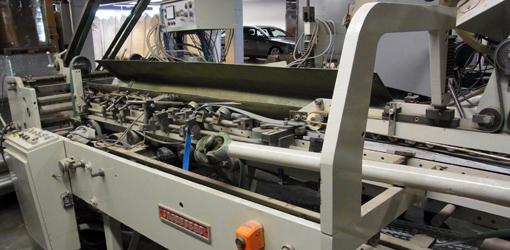 фальцевально-склеивающая машина Jagenberg Diana 1225-4 (1974/2008)