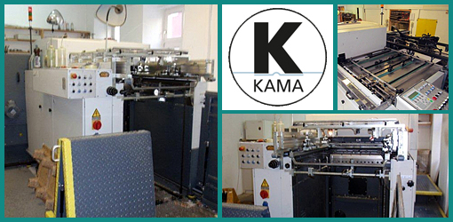 автоматический высекальный пресс Kama TS-105, 2004 г.в.