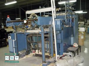 штанцавтомат Кама ТС-96 с приставкой для тиснения (б/у)