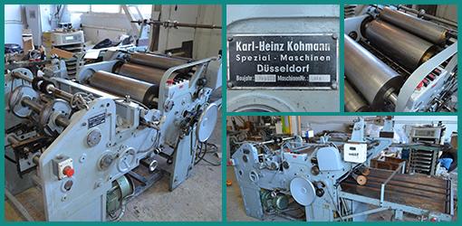 Karl Heinz Kohmann вклейка окошек из пленки (PVC, PE, PS, PET) в картонные коробки