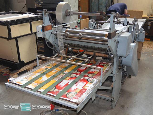 window patching machine (PVC, PET, PS, PP) Kohmann (stock, UA)