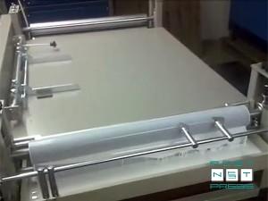 ручная кашировальная (крышкоделательная) машина