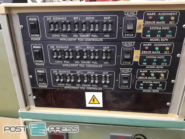 """hot embossing machine Kluge EHD 13""""x19"""""""