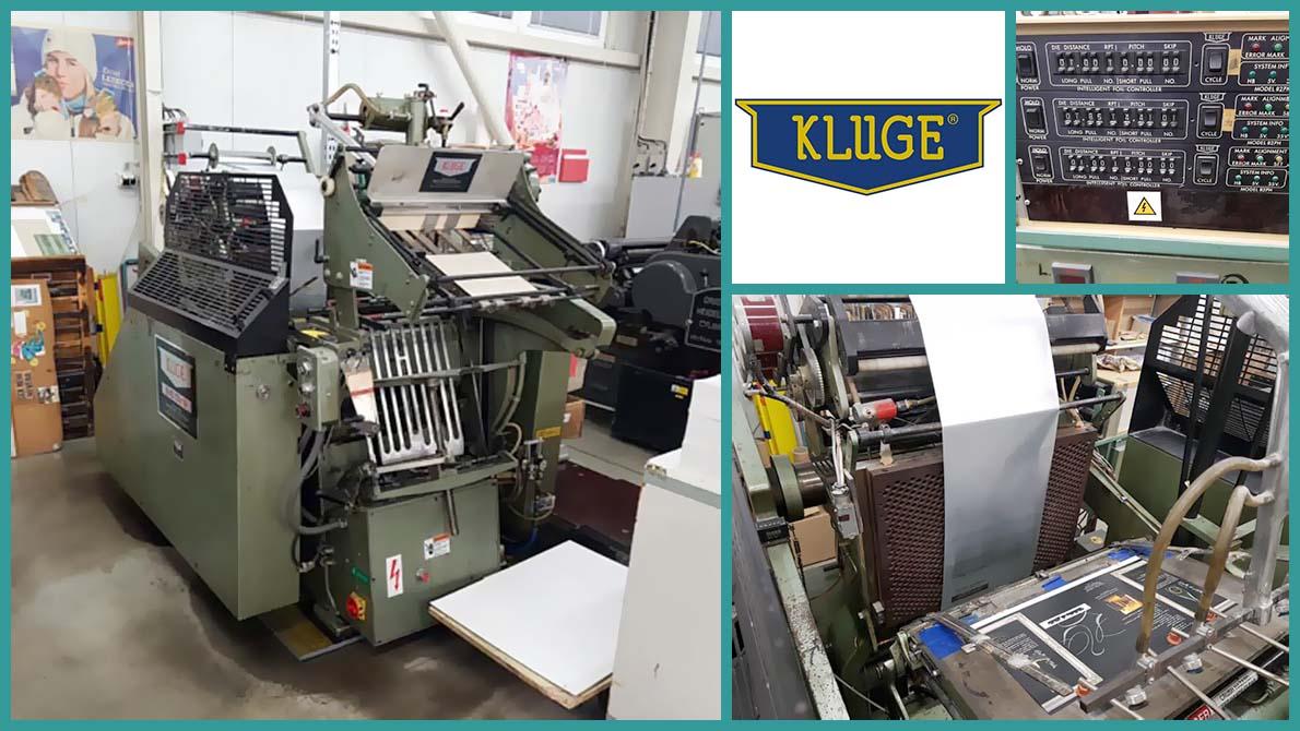 """тигельный пресс для высечки и тиснения Kluge EHD 13""""x19"""""""