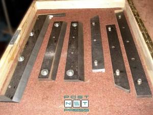 комплект ножей для ВШРА Osako 368