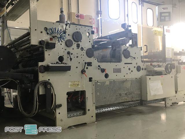 window patching machine Kohmann F-1350, age 1996