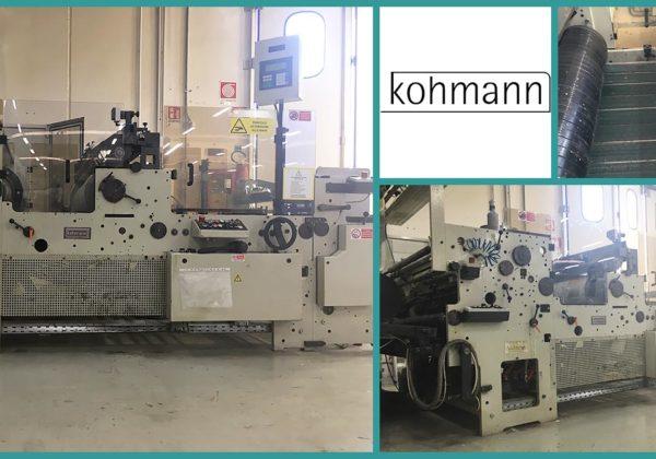 used window patching machine Kohmann F-135 (1996)