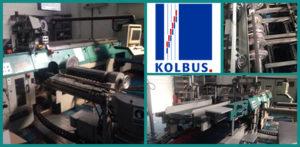 автоматическая крышкоделательная машина Kolbus DA-232, 1999 год