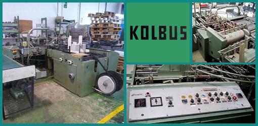 б/у автоматическая крышкоделательная машина Kolbus DA 36 (1970)