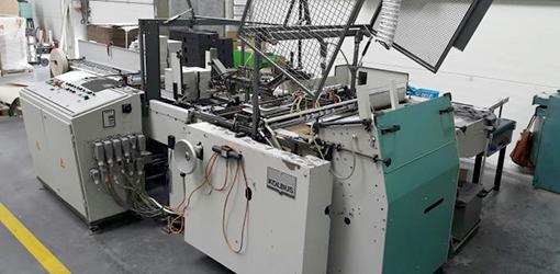 автоматическая крышкоделательная машина Kolbus DA.S, 2000 год