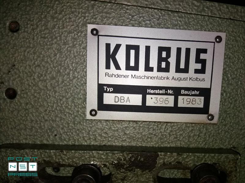 пресс для тиснения папок Колбус PE-48