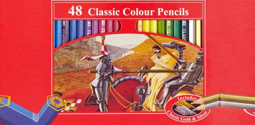 Картонная коробочка для карандашей