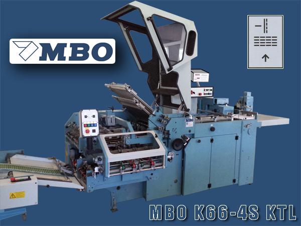 Комбинированная кассетно-ножевая фальцевальная машина MBO K66-4S KTL
