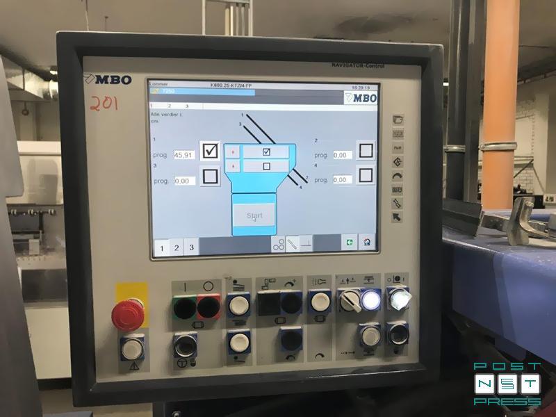 пульт правления со счётчиком продукции MBO Navigator-Control