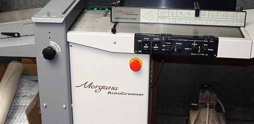 перфорационно-биговальная машина Morgana Autocreaser 33 (MK1) (б/у)