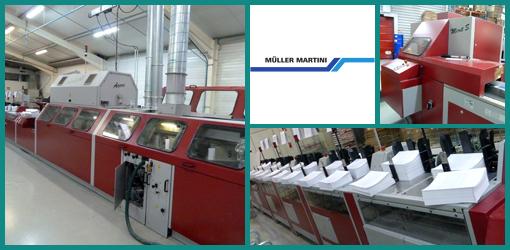 продам КБС Muller Martini Acoro 5, 2005 год