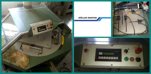 термобиндер КБС Muller Martini Amigo 1580, 2000 г.в.