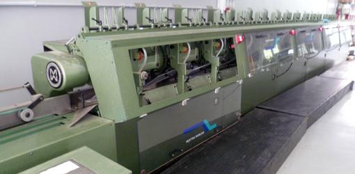 Автоматическая линия для подбора тетрадей Muller Martini ZR 15 со стеккером Tecnograf M2X