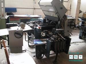 комбинированная фальцевальная машина Multi-Еffekt 2056-4 KTL