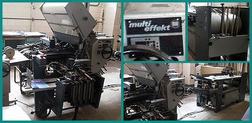 комбинированная фальцевальная машина Multieffekt 2056-4 KTL (Киев, б/у)