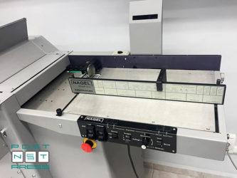 система вакуумной подачи бумаги с воздушным разделением стопы Nagel DigiFold