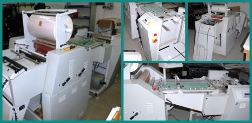 автоматический термоламинатор Plast 52 SUPER (Officine Meccaniche Marchetti), 2008 год