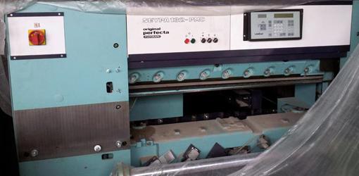 одноножевая бумагорезательная машина Perfecta Seypa 132-PMC