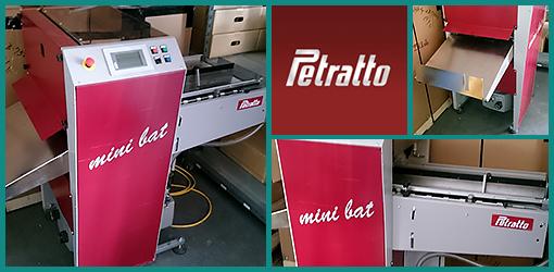 высокоскоростная биговальная машина Petratto Mini Bat 2 (2009 год)