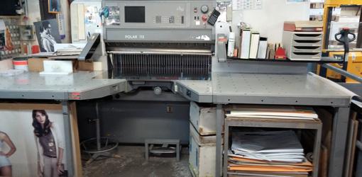 одноножевая бумагорезательная машина Polar 115 E (б/у)