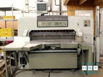 гильотина Polar 137 EMC-MONITOR Autotrim (1987 год)