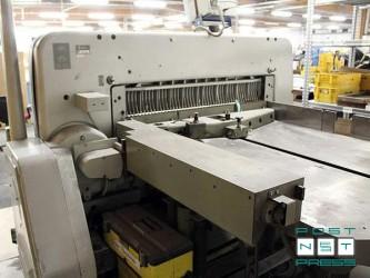 бумагорезательная машина Полар 137 EMC-MONITOR Autotrim (б/у)