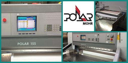 бумагорезательная машина (гильотина) Polar 155 ED, 2002 год