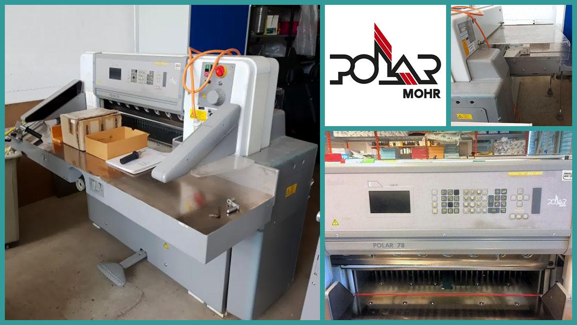 used guillotine Polar 78E (1995)