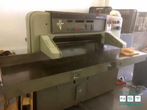 бумагорезательная машина Полар 92 EM, б/у