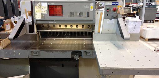 бумагорезательная машина Polar 92 E, 1996 год выпуска