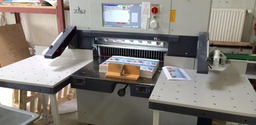 бумагорезательная машина б/у Polar N 78 PLUS (2013 год)