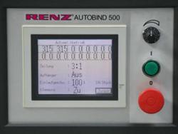 Renz Autobind 500 (пульт управления с дисплеем)