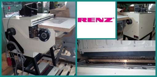 напольный электрический перфоратор RENZ Super 500 (1992 год)