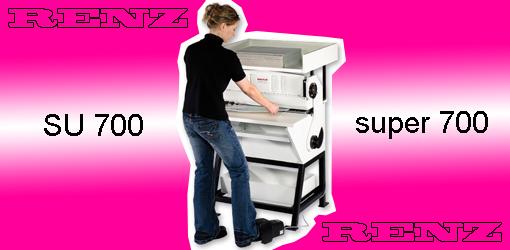 перфорационно-биговальная машина Renz Super 700 (Renz SU 700)