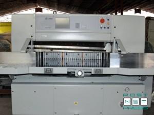 гильотина SPPM 115E (Китай), 2008 год