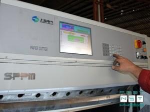 компьютер и цветной сенсорный экран (китайский резак 115 см, б/у)