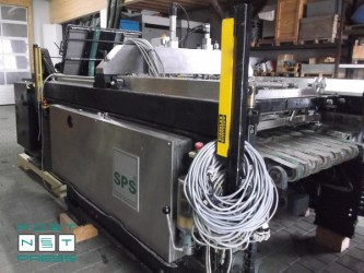 стоп-цилиндровая листовая трафаретная печатная машина SPS Vitessa Star G1+