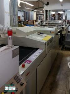 вакуумный прижим на ремнях накладного стола (Sakurai Maestro-102A II)