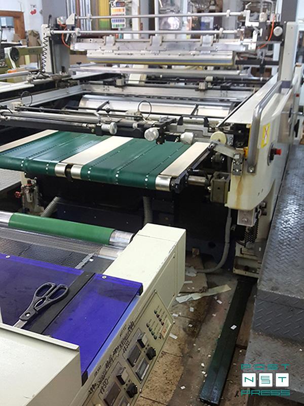 печатный и орошающий ракели с индивидуальными приводами (Maestro-102AII)