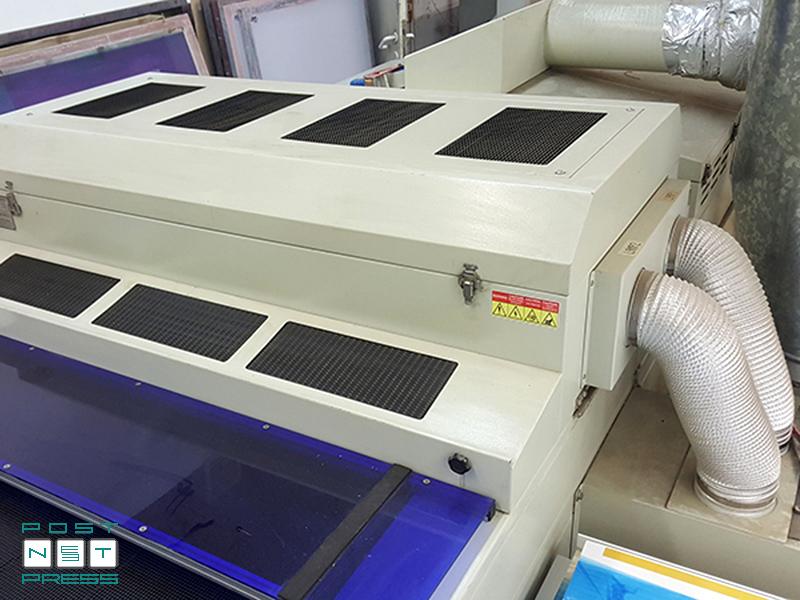 УФ-сушка (2 лампы по 13 кВт) с принудительным охлаждением (Maestro-102AII)
