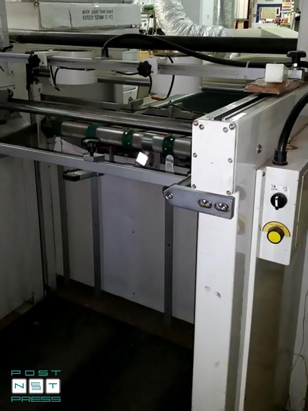 приёмный стеккер к Sakurai Maestro MS-102AII (2007 год)