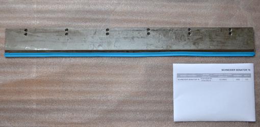 новый нож Schneider Senator 76 (910x105x9.95, HSS) склад Харьков