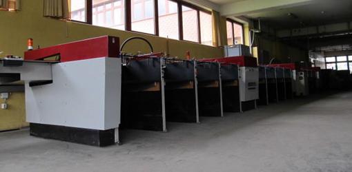 горизонтальная вакуумная листоподборка Setmaster B1, 16 лотков
